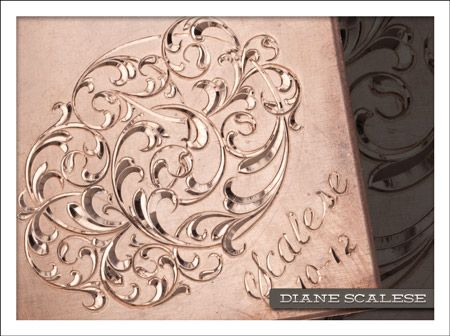 Diane Scalese's 2014 Lux Cut Engraving course at GRSTC ...