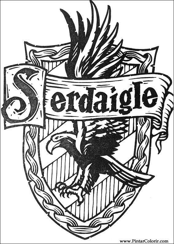 Harry Potter Tegninger til Farvelgning Printbare Farvelgning