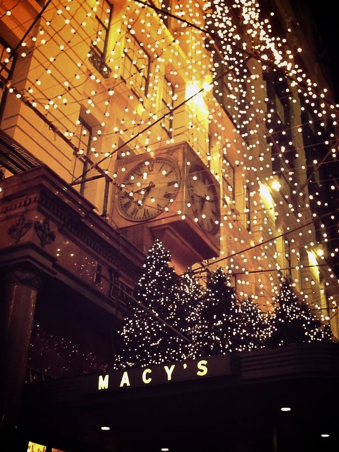 Macy's on 34th Street really is a great spot to hit during the holidays. It's very festive and if you have kids you should definitely visit the Santaland. Although we waited in a very long line they have more than one Santa (hidden so the kids can't see) and get you through very quickly.