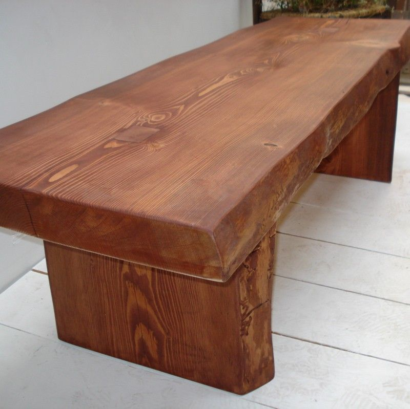 a98d318a8fd Mortise and Tenon Bench Coffee Table