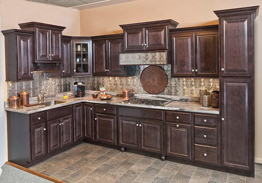 Riverside Dark Sable In 2020 Custom Kitchen Cabinets Kitchen Cabinets Quality Kitchen Cabinets