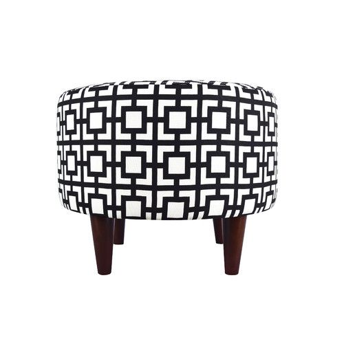 separation shoes 15547 6717a Found it at Wayfair - Sophia Gigi Round Ottoman | Small ...