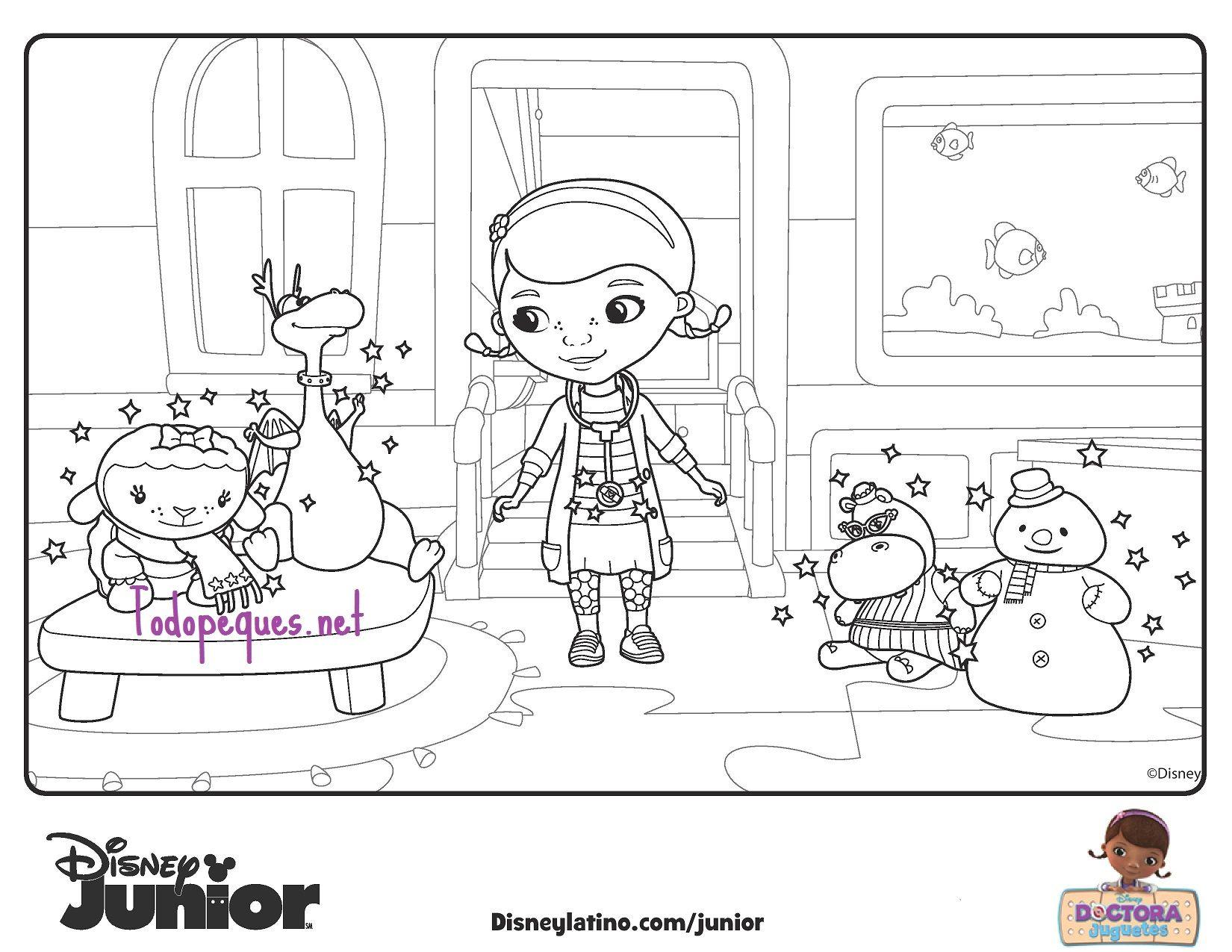 coloreadoctora4-page-001 | Festejar | Pinterest | Doctora, Colorear ...