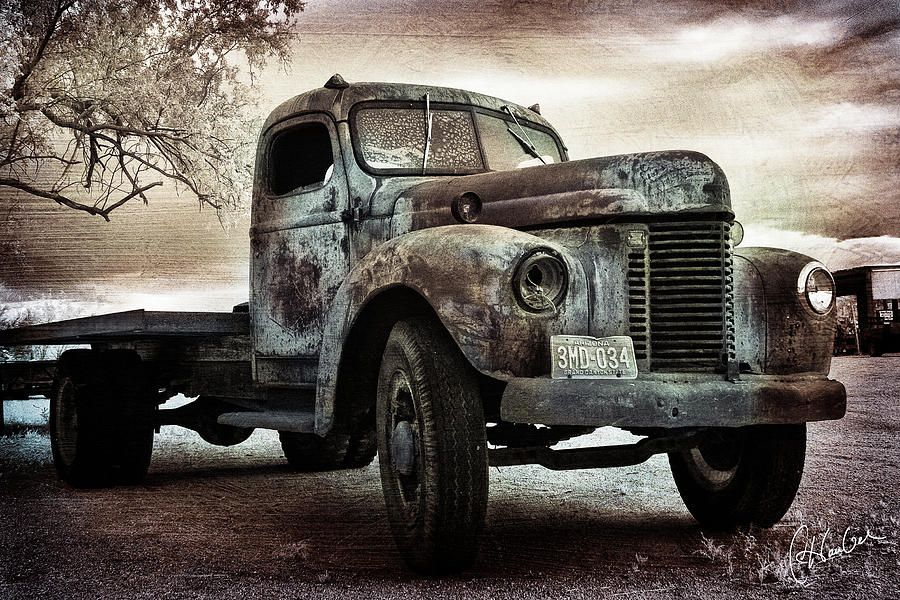 old farms for sale old farm truck photograph old farm truck fine art print rusty. Black Bedroom Furniture Sets. Home Design Ideas