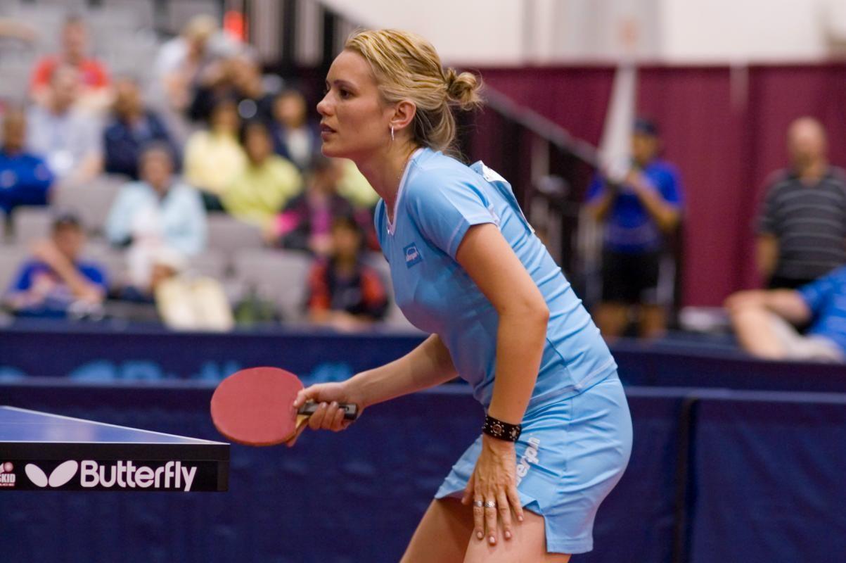 Biljana Biba Golic Is A Serbian Table Tennis Player