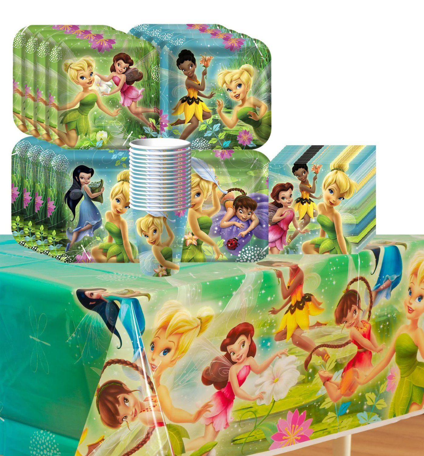 Tinkerbell Birthday Party Set - click on it then scroll where it ...