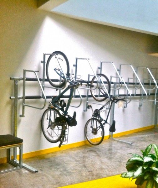 Have your bike and park it too interiors room
