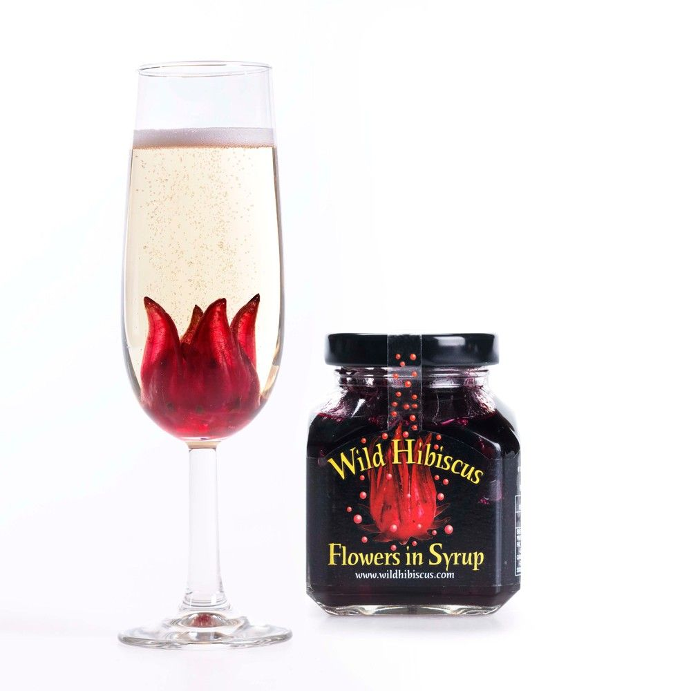 Wild Hibiscus Flowers In Syrup With Images Fruit Hampers Hibiscus Hibiscus Syrup