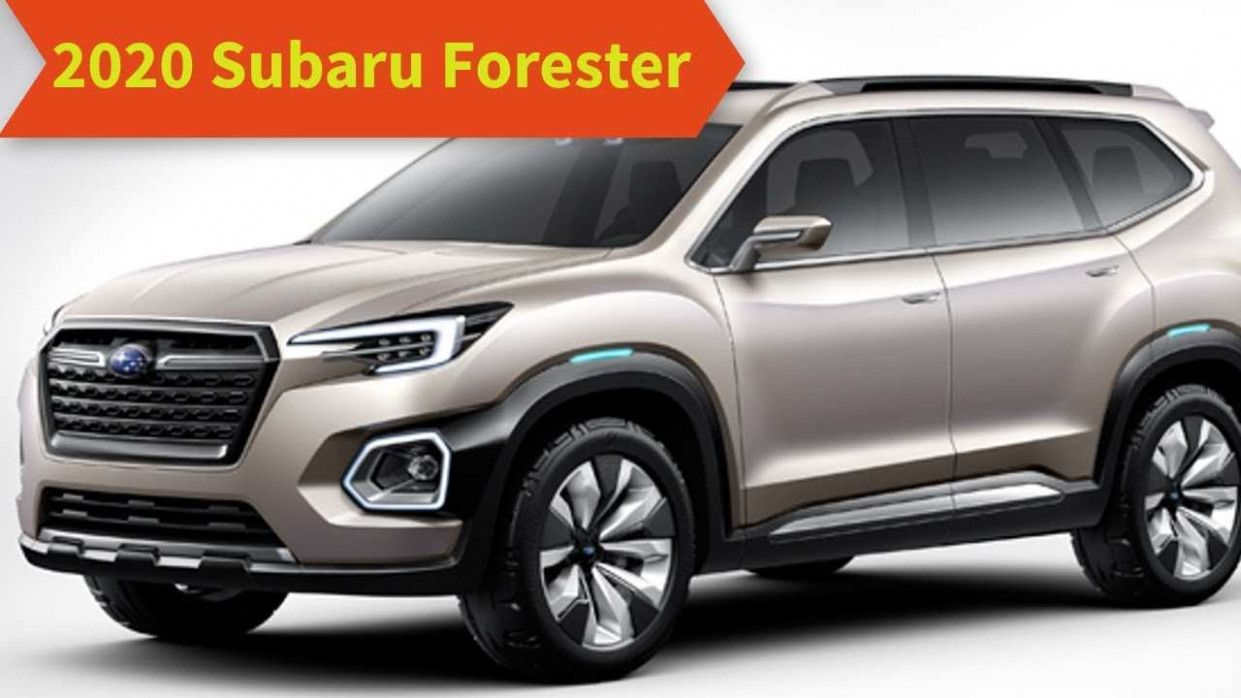 Subaru Forester 2020 Colors Release Date And Concept in