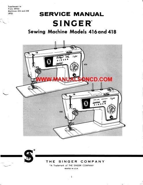 Singer 40 40 Sewing Machine Service Manual Sewing Machine Unique Singer Sewing Machine Belts