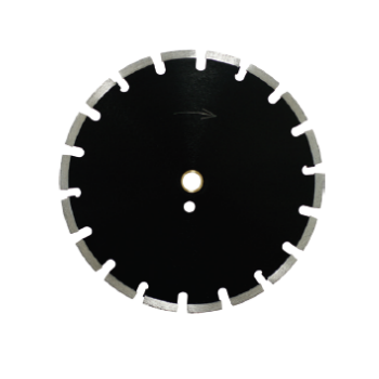 CHEETAH-3 - An outstanding quality asphalt blade. This professional blade with its laser welded segments provides very accurate cutting. Features undercut protection, pin hole drive and high diamond content. Cuts: asphalt, light weight block, green concrete, & other abrasive materials. 13mm Segment Height Use wet or dry.