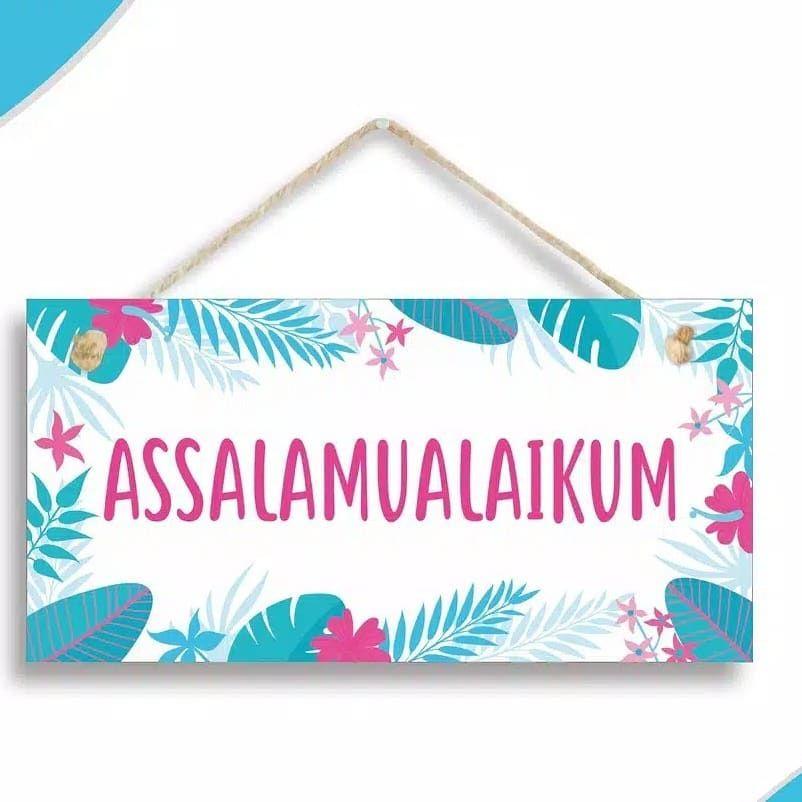 Homedecor Home Decor Hiasan Dinding Ukuran 20x10cm Material Papan Papan Mdf Dilapisi Cat Warna Putih Acrylic Wat Islamic Inspirational Quotes Print Blog