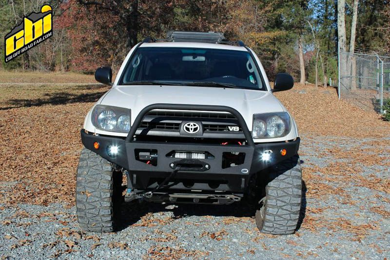 Custom 4th Generation Toyota 4runner Front Winch Off Road Bumper By Cbi Offroad Fab 1 Of 2 Jpg