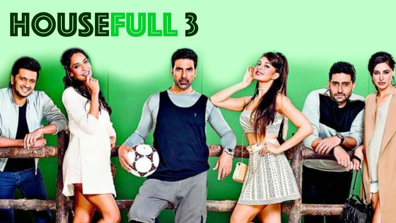 Housefull 3 movie review either don t go for it or leave your brain