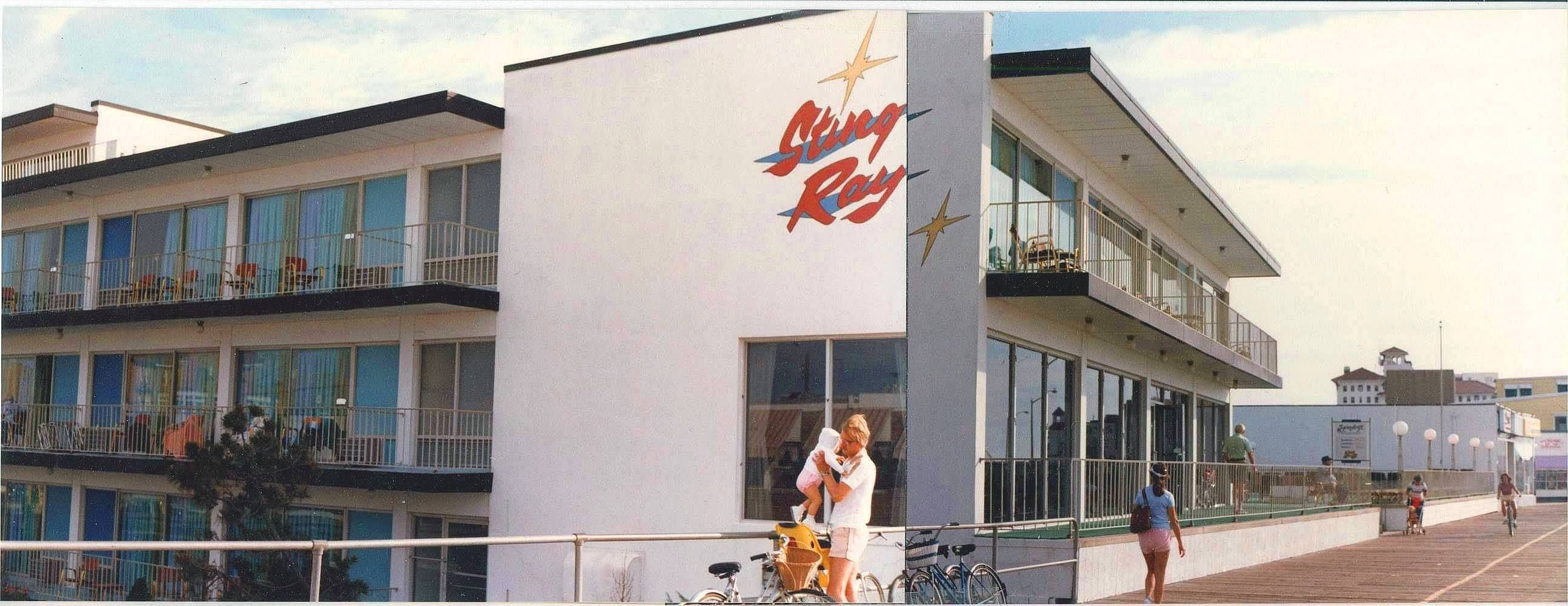 Sting Ray Motel Boardwalk Ocean City Nj Early 1980 S My Grandmother I Stayed Here In The Late 1970 S To Ocean City Nj Boardwalk Ocean City Nj Ocean City