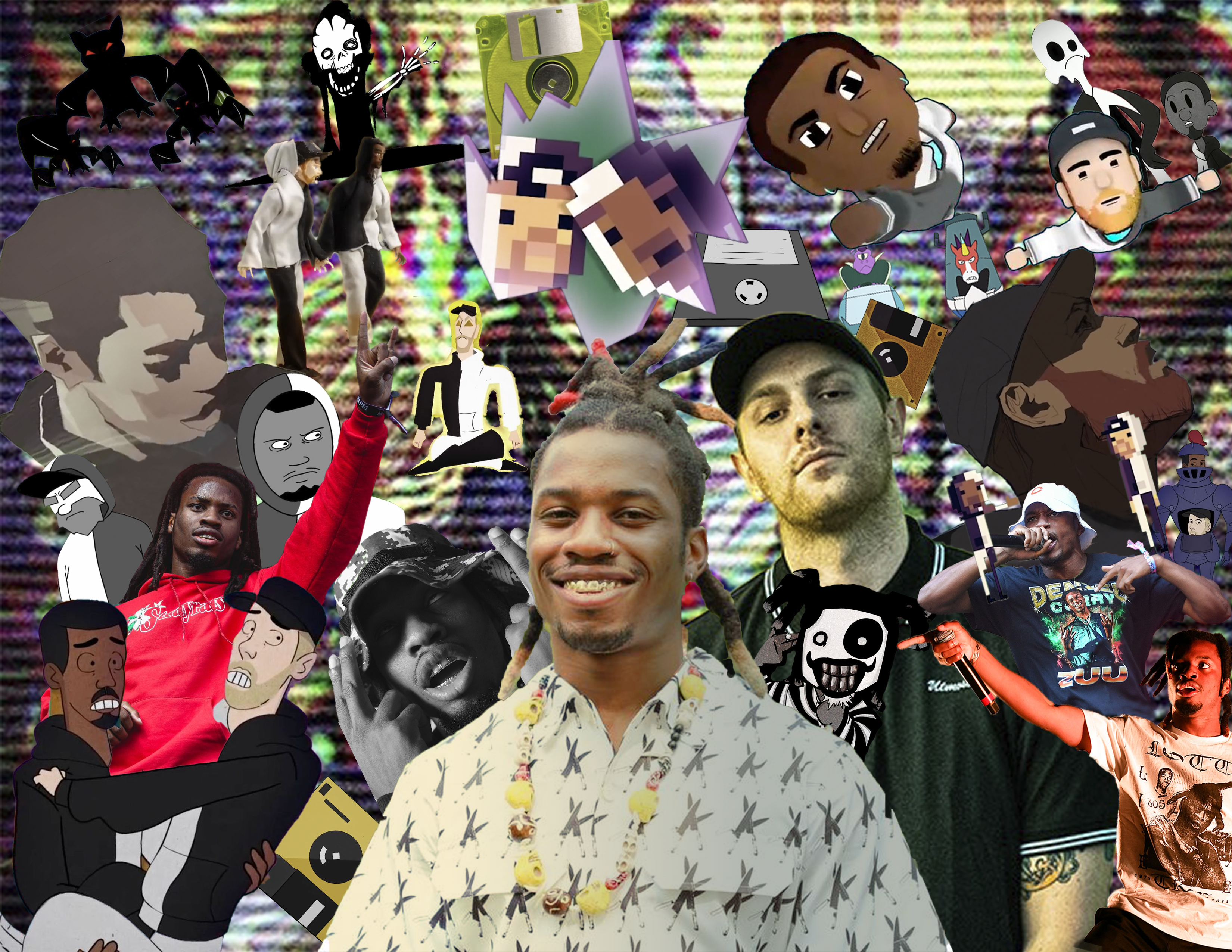 Hey Guys I M New Just Made This Unlocked And A Bit Random Zel Pics Collage As An Exam For My Photoshop Class W In 2020 Photoshop Class Photoshop Pics