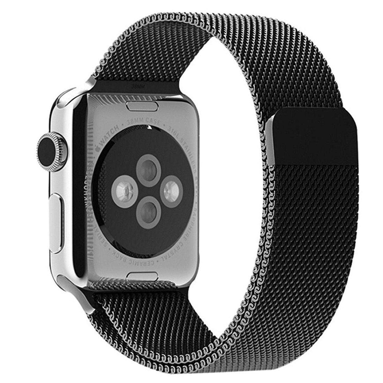 Apple Watch Band, Perman Milanese Magnetic Loop Stainless Steel Wire ...