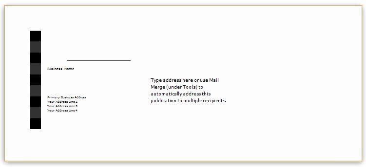 Microsoft Word Envelope Template New 40 Editable Envelope Templates For Ms Word Envelope Template Envelope Design Template Invoice Template Word