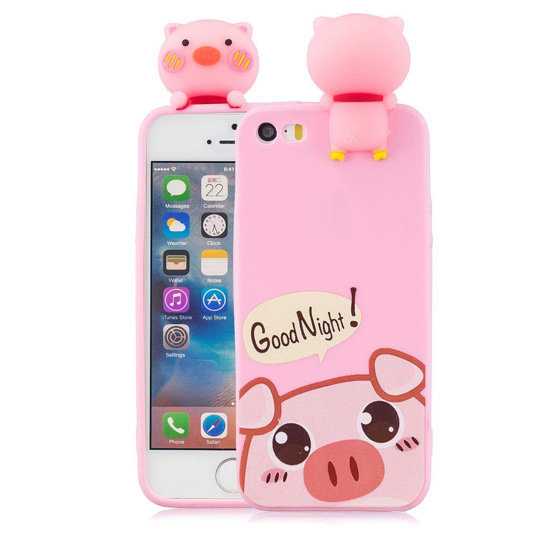 new arrival 5f40b ceca2 Amazon.com: iPhone SE Case,iPhone 5S Case,iPhone 5 Case,DAMONDY Cute ...