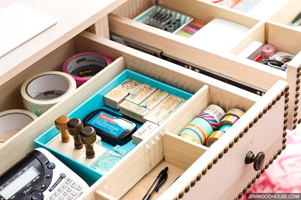 Uheart organizing: easy does it diy drawer dividers everything in