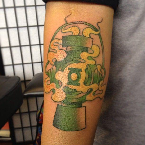 Green lantern tattoo - photo#40