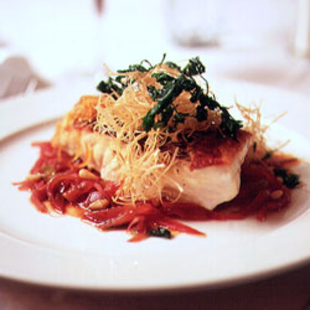 Striped bass in saor tarts fish and recipes in venetian cooking saor meaning sour is a tart slightly forumfinder Choice Image