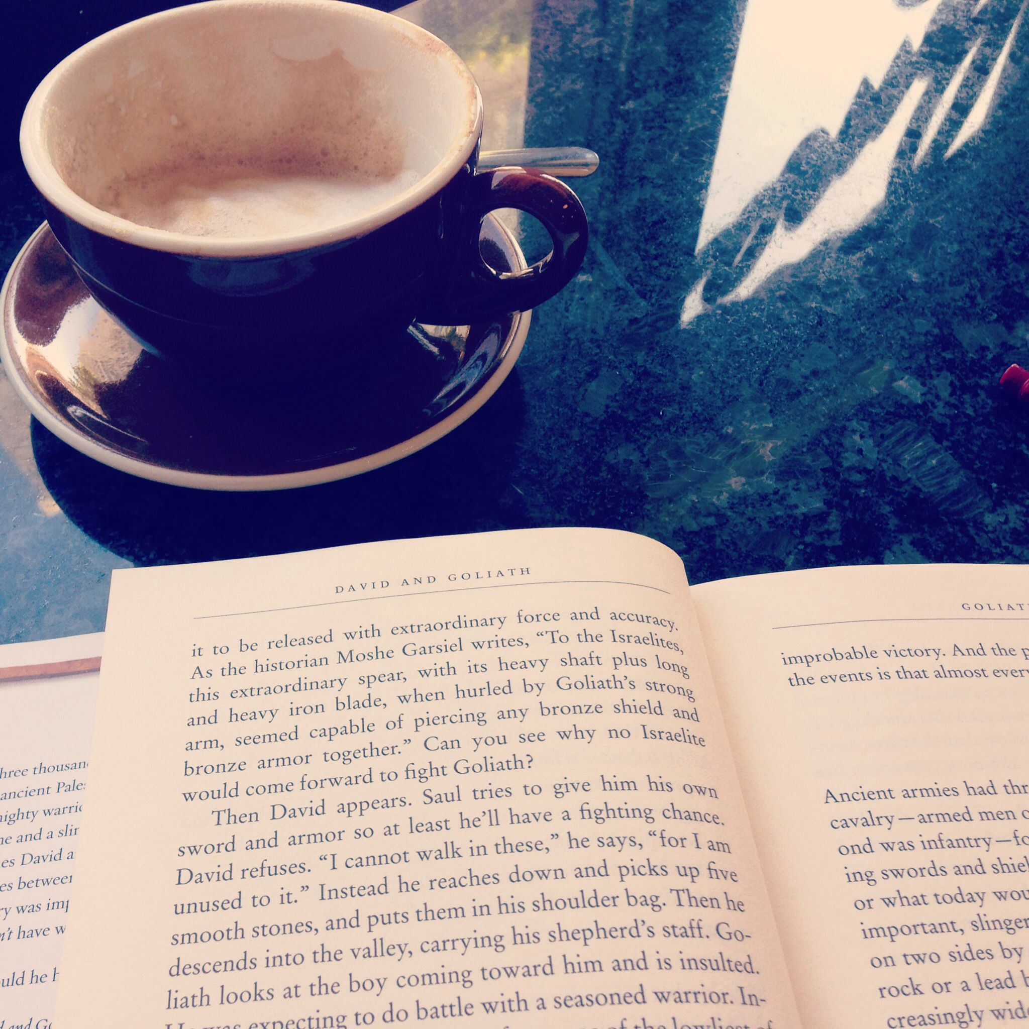 Capuccino, book, north beach, cafe, spring