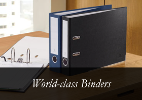 Bindertek Find the perfect binder - The Binder Finder shopping wizard will find a perfect match. Shop by binder color, ring size, page capacity, and paper size.