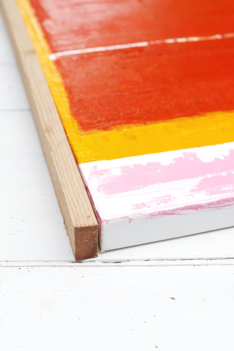 DIY Custom Framing—No Power Tools Required | Colgar cuadros, Cuadro ...