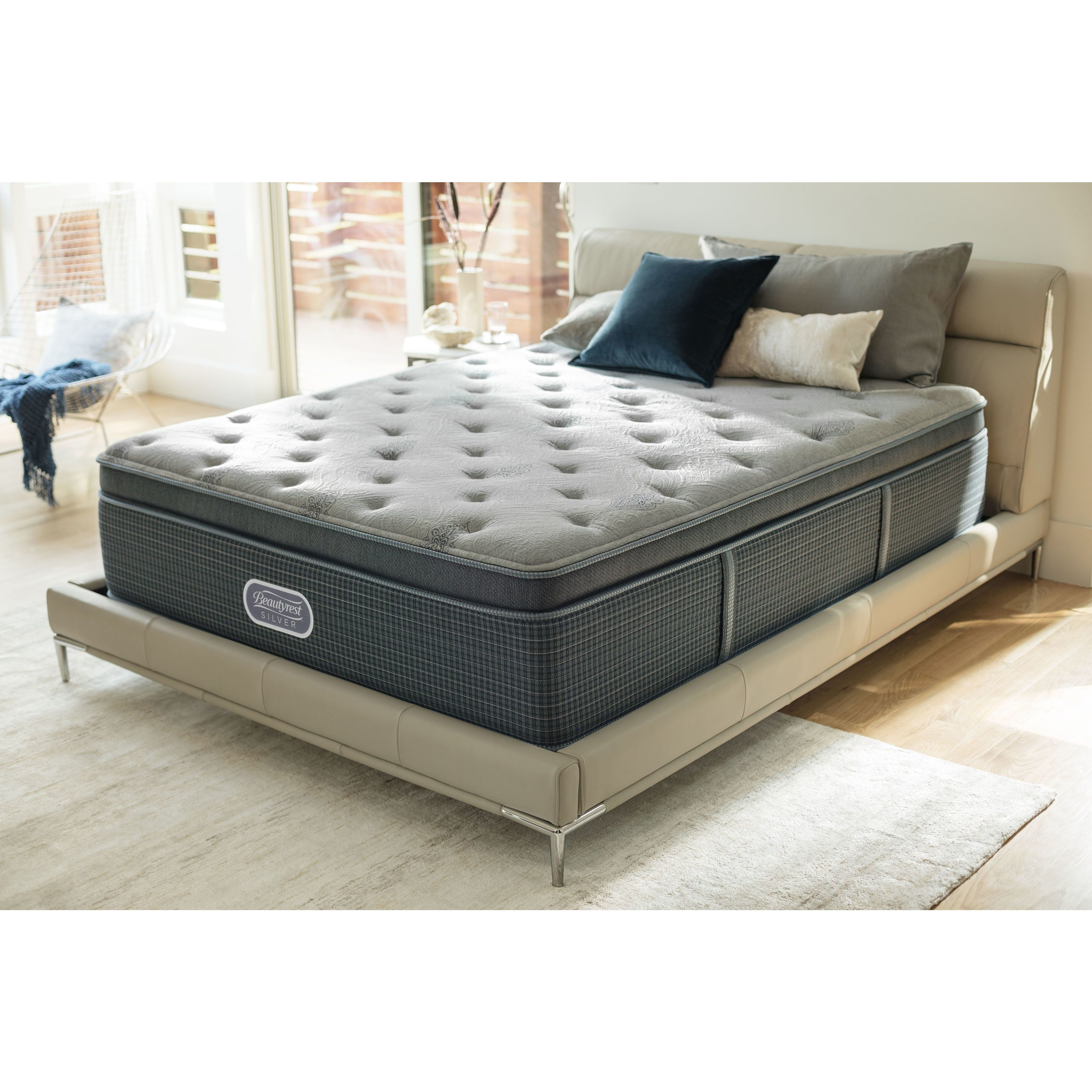 Beautyrest Silver Discovery Bay Luxury Pillow Top 15 5 Inch Full
