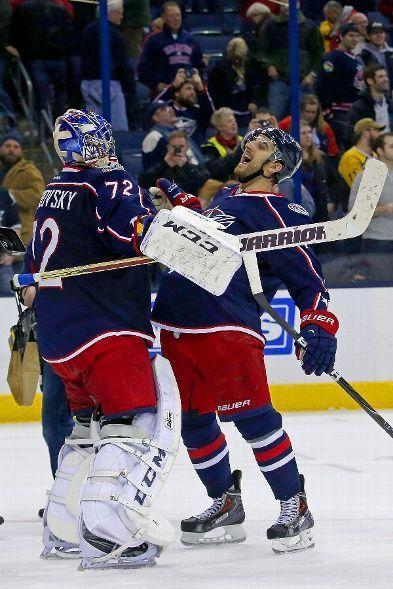Blue Jackets Over The Lightning 1 13 14 Columbus Blue Jackets Blue Jacket Nhl Hockey