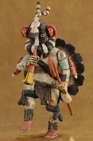 Hopi Kokopelli Kachina He Is Found In All Pueblos Of The Southwest