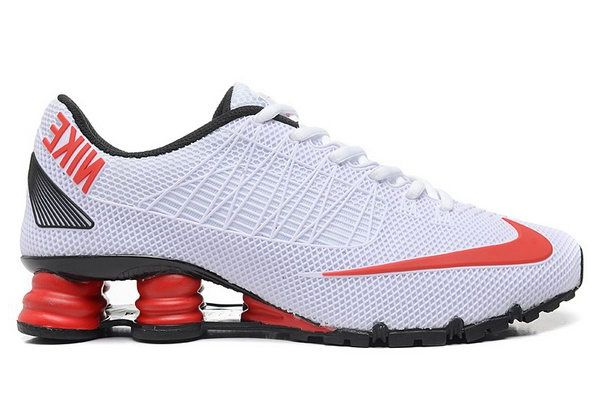 Mens Nike Shox Turbo 21 White Red 40-46 Hong Kong