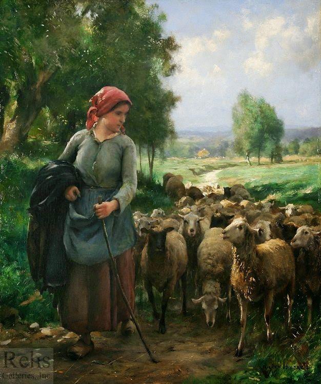 لوحات فنية رائعة صور ابداعية رائعة لقطات Sheep Art Farm Art Art Painting