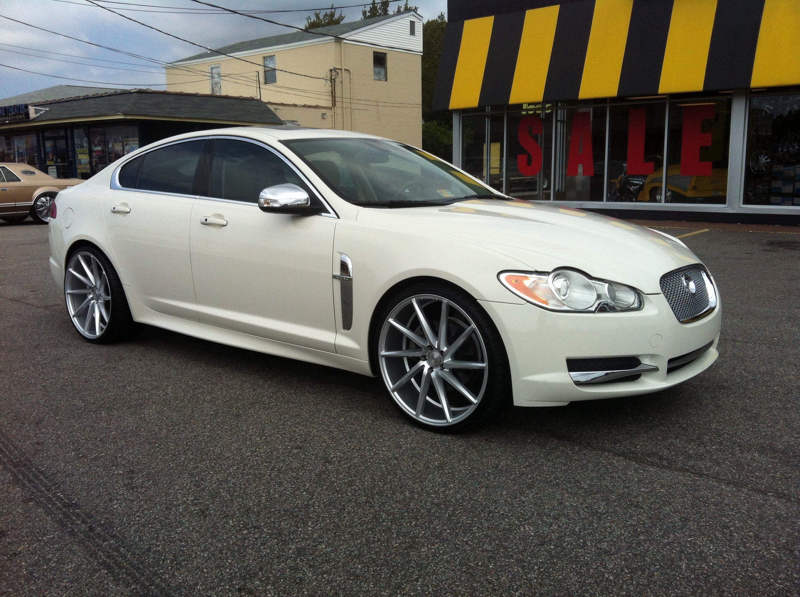 Jaguar xf on 22 cvt s
