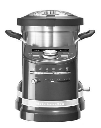 KitchenAid Cook Processor- Medallion Silver KitchenAid Cook - kitchenaid küchenmaschine artisan rot