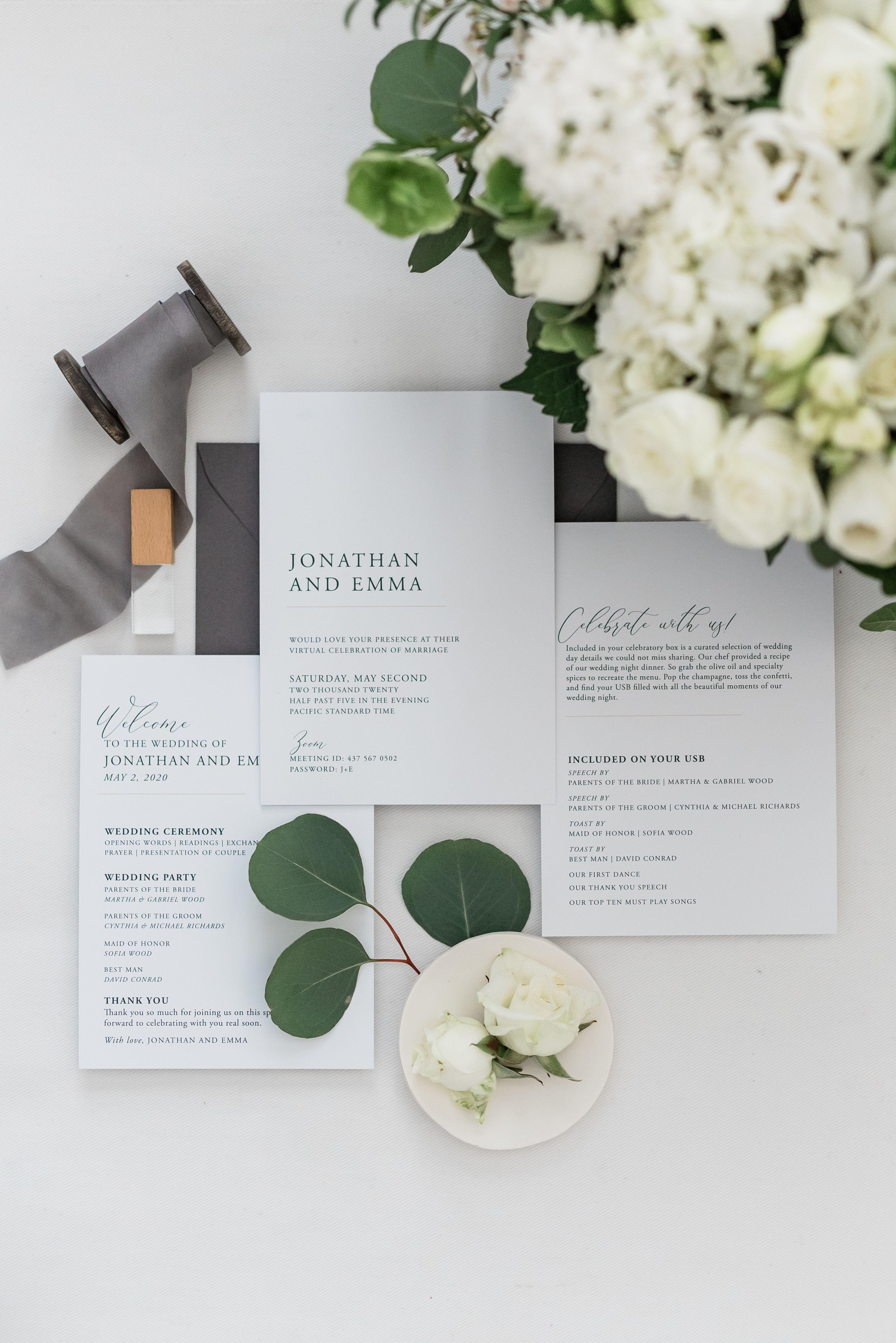 Pin on Celebration Box for Virtual Wedding