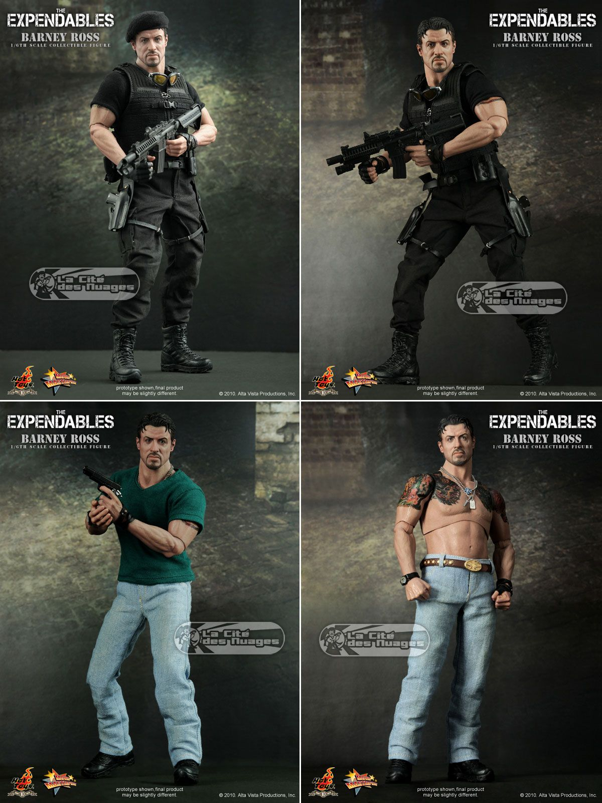 """Stallone Cobra Action Figure 