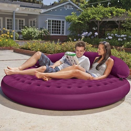 intex inflatable chairs all weather reclining garden couch daybed sofa lounge blow up furniture inflatables 75 x 21