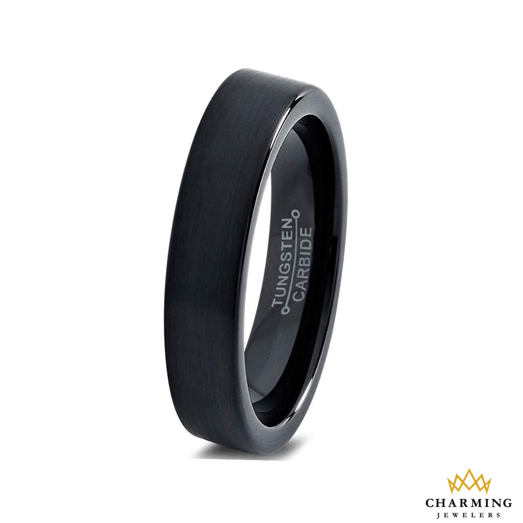 Sale 22 Only Made from Real Tungsten Carbide Wedding Band