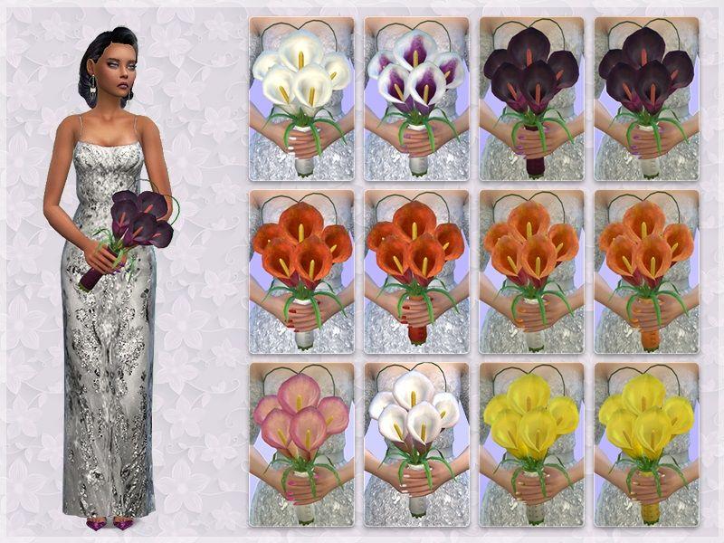 Giuliettasims calla lily wedding bouquet lily bouquet