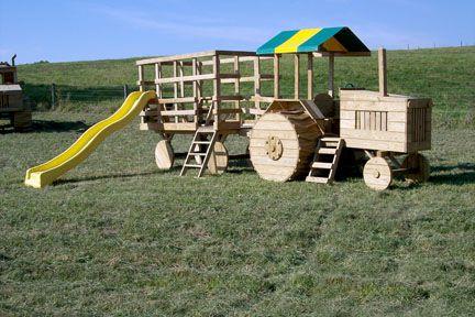 Klettergerüst Traktor : Traktor prolézačka klettergerüst traktoren