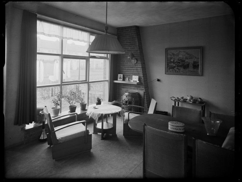 cas oorthuys interieur fotograaf, ca. 1940 (interieurfotografie ...