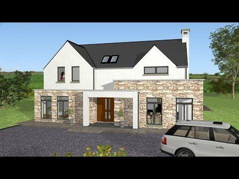 Irish House Plans Type Mod038 Exterior House Designs Ireland Irish House Plans Irish Houses