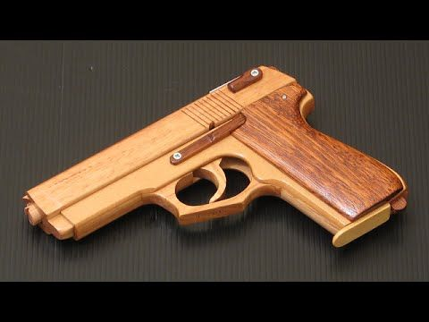 How To Make Easy Glock 17 Rubber Band Gun Tutorial