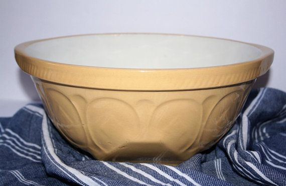 "Vintage ""Gripstand"" Cane Bowl TG Green LTD Church Gresley England ..."