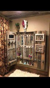 Schmuck Schrank Aufbewahrungsschrank Schmuck Schrank Schrank Dieses Bild hat 585 Wiederholungen. Autor: Cherie Schmidgall #Armoire #Closet #Jewelr ...