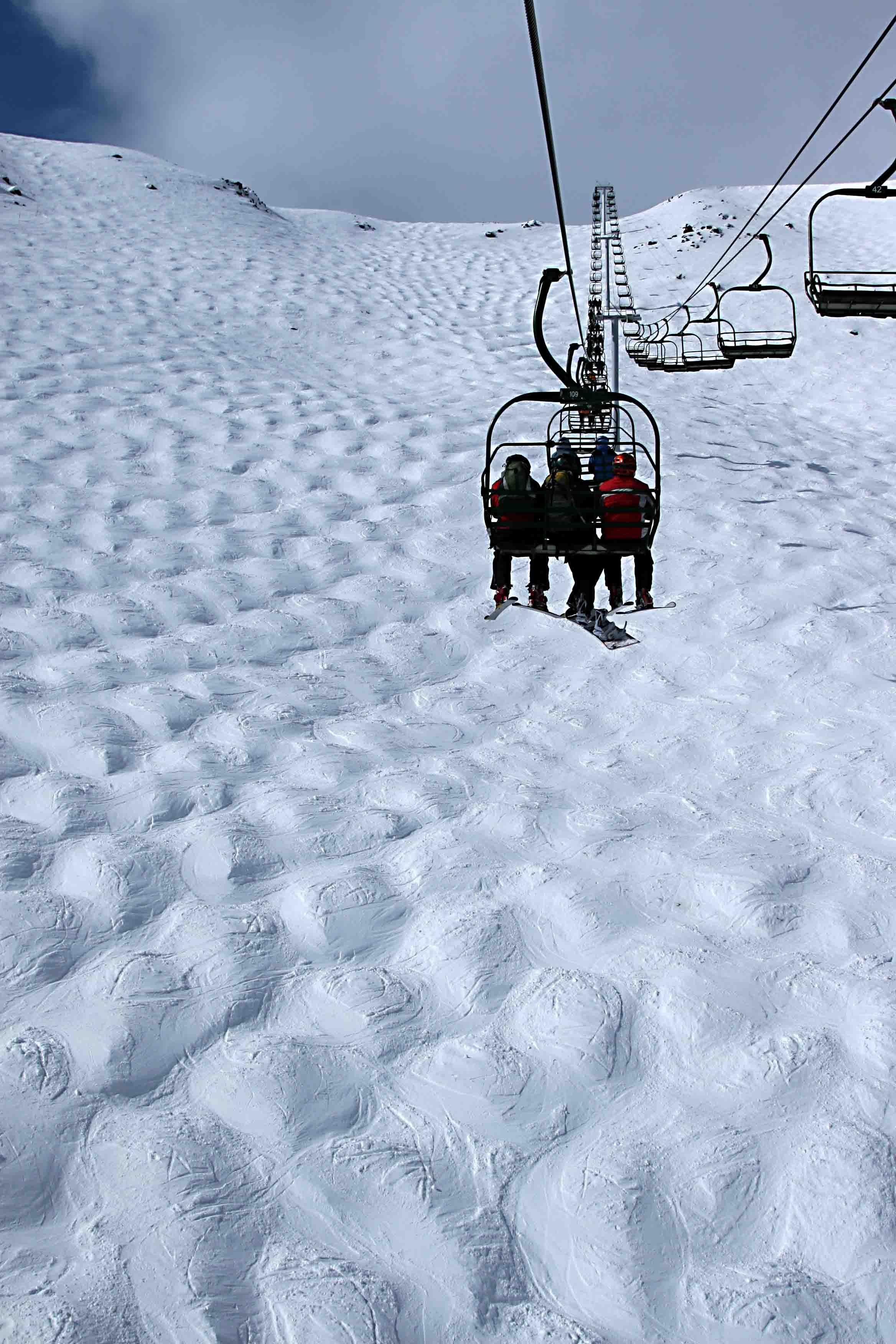 ❄~ paradise chair - comedy bowl - lake louise ski resort, alberta