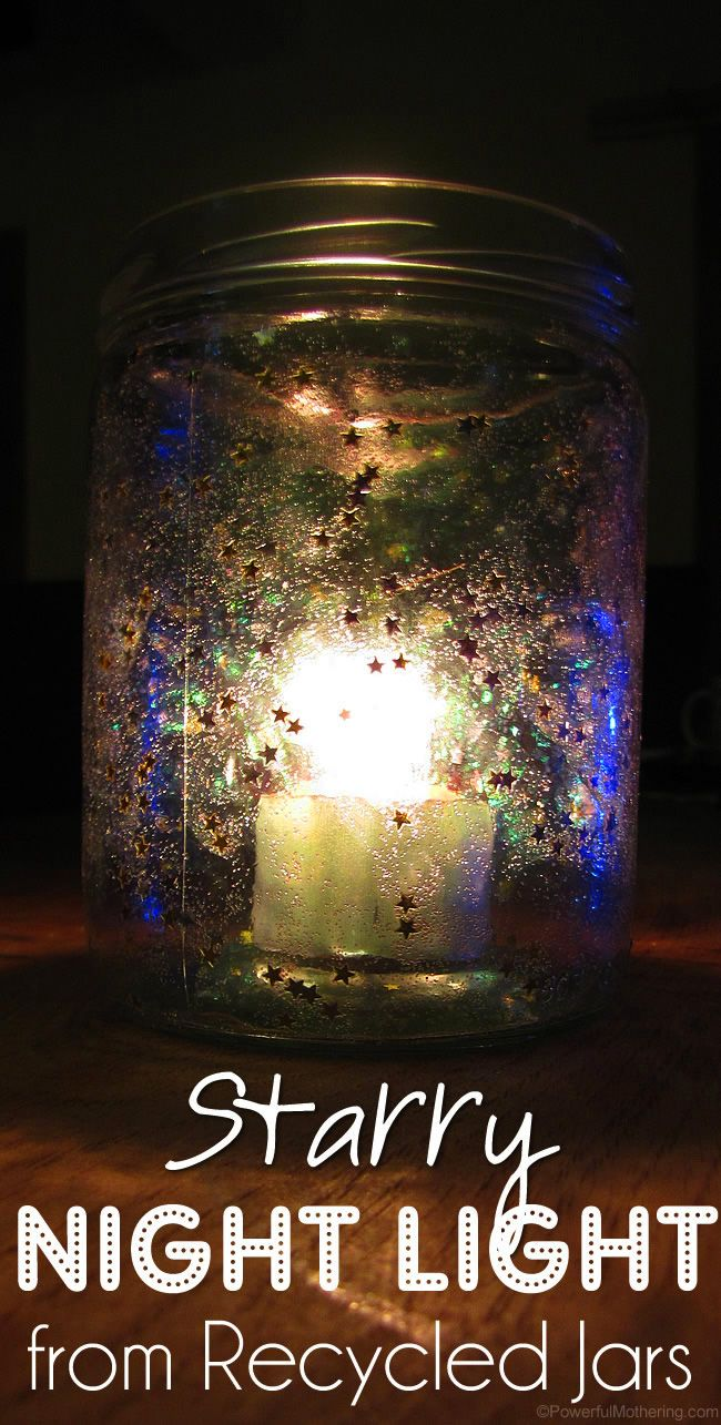 Starry Night inspired luminaries perfect for parties