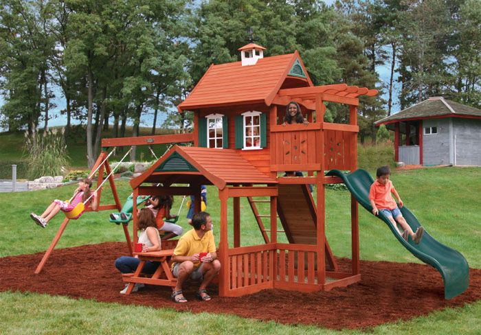 Play Mor Swings Sets Offers Outdoor Wooden Play Sets In This